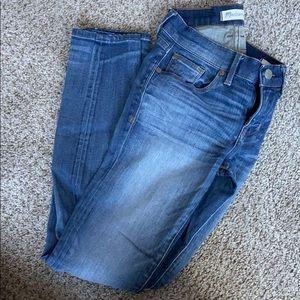 Madewell skinny skinny jeans. Size 24. Light rinse